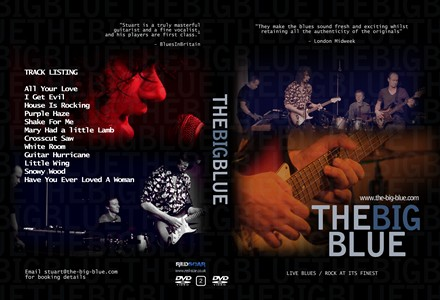 The Big Blue Live Blues CD